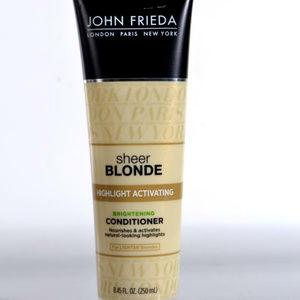 NEW! J FRIEDA SHEER BLOND CONDITIONER & SHAMPOO